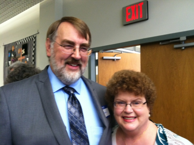 Charlaine & Hal Shulz. Photo courtesy of Abby Browning