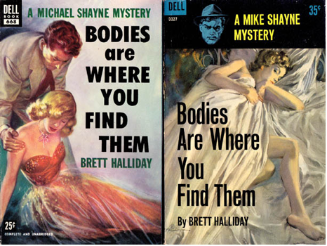 Fifties cover by Robert Stanley; early sixties cover by Robert McGinnis