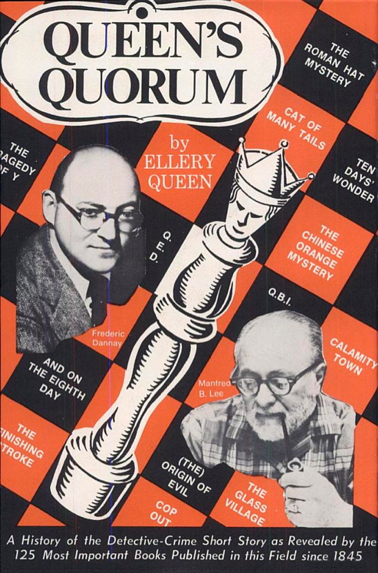 Cover of Queen's Quorum: A History of the Detective-Crime Short Story (1951)