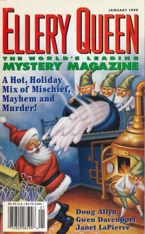 Cover of EQMM, January 1999