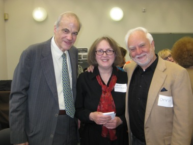 Richard Dannay, Janet Hutchings, and Otto Penzler