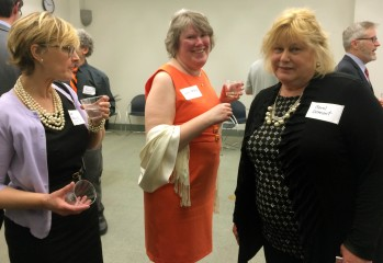 Abigail Browning, Christine Begley, and Carol Demont