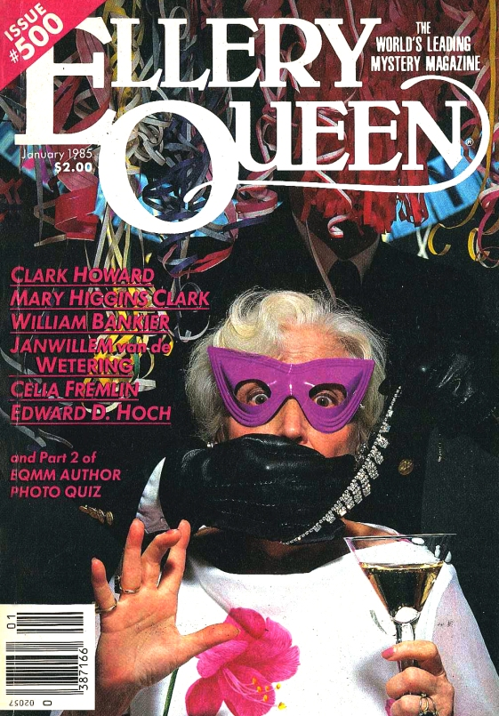 Cover of EQMM, January 1985