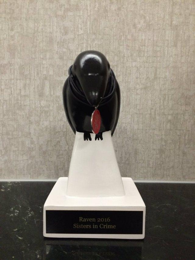 Malice 2016: The Raven Award.